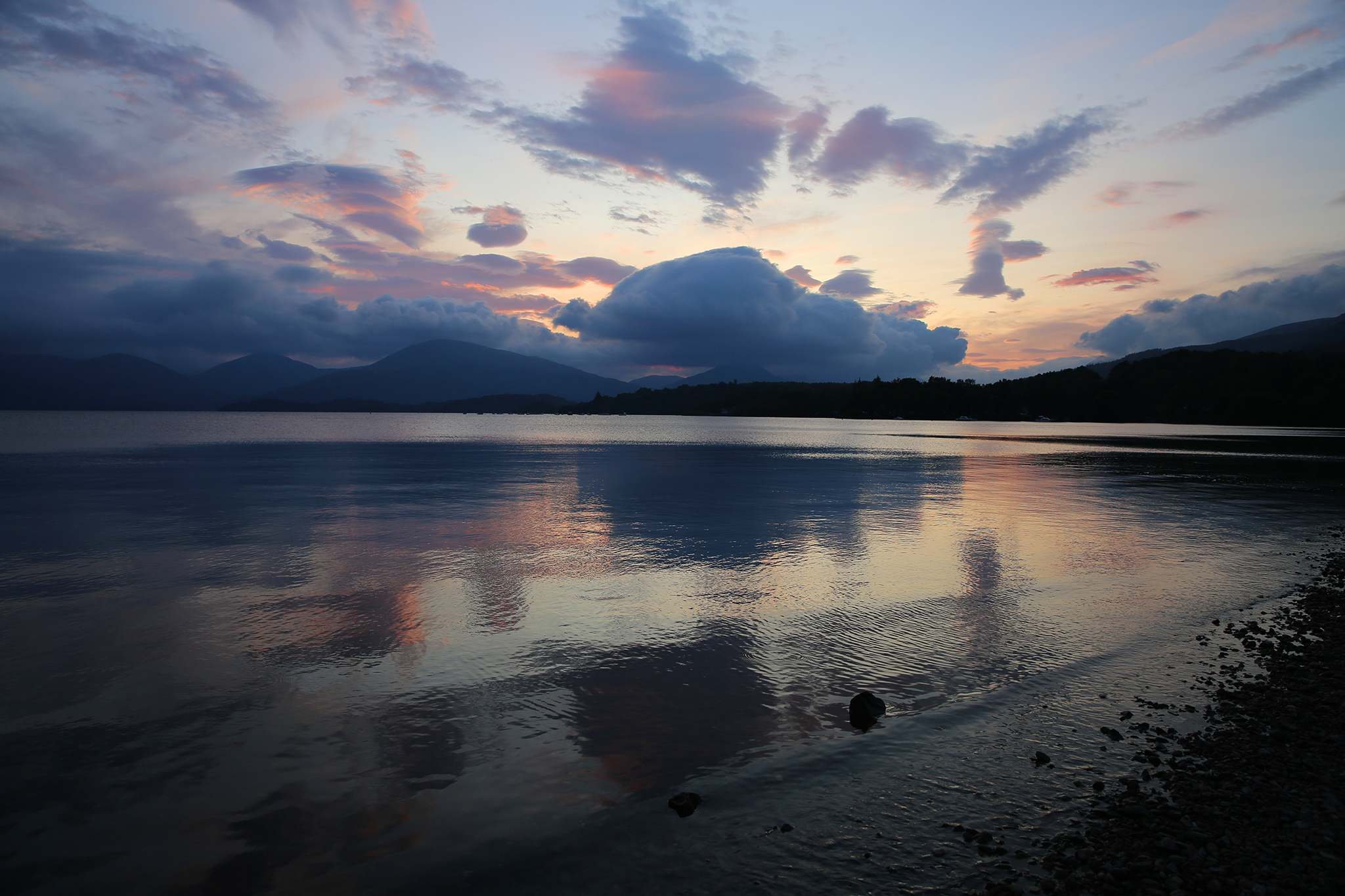 Loch Lomond, Scotland by Zoetica Ebb, 2019