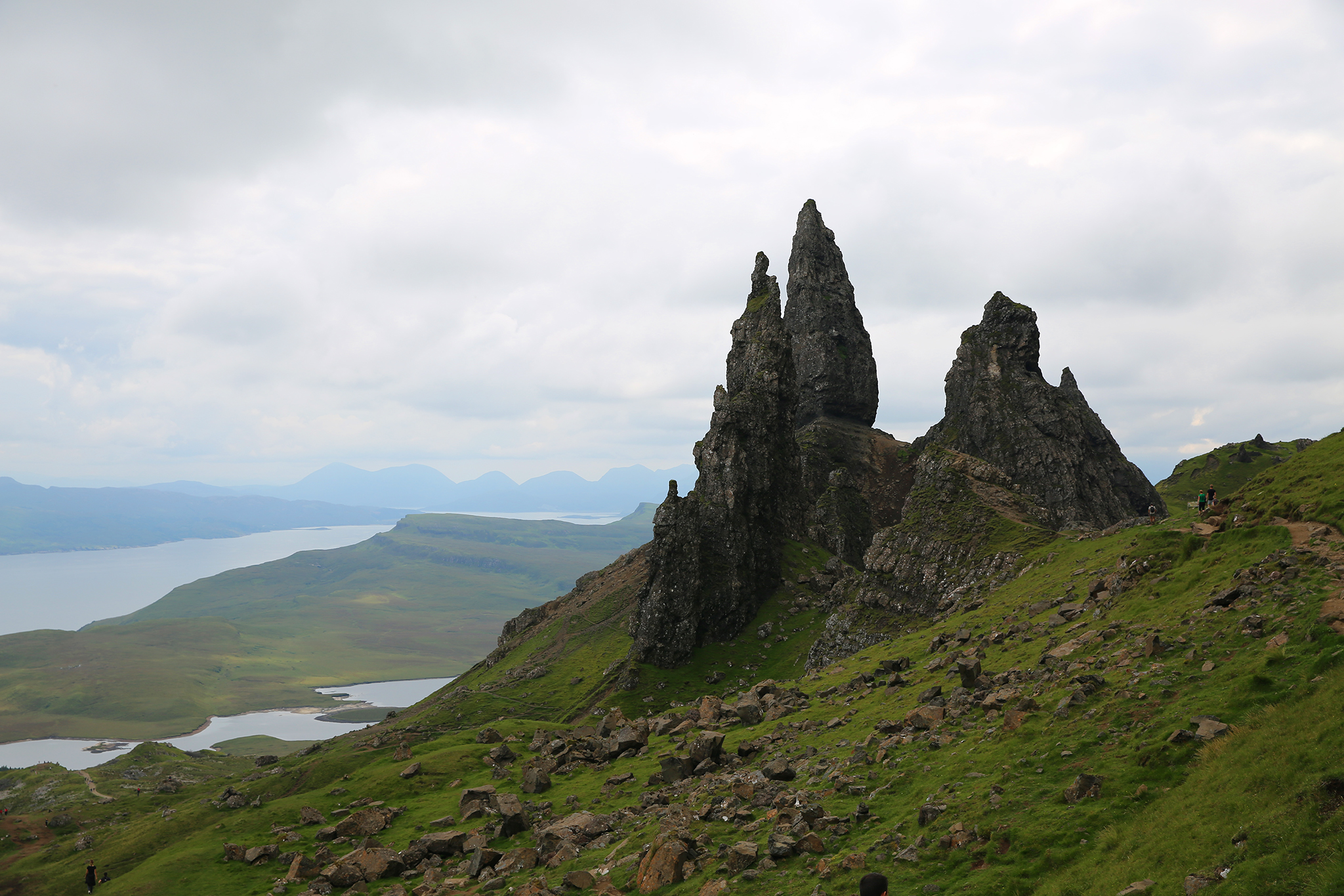 Old Man of Storr, Scotland, by Zoetica Ebb, 2019